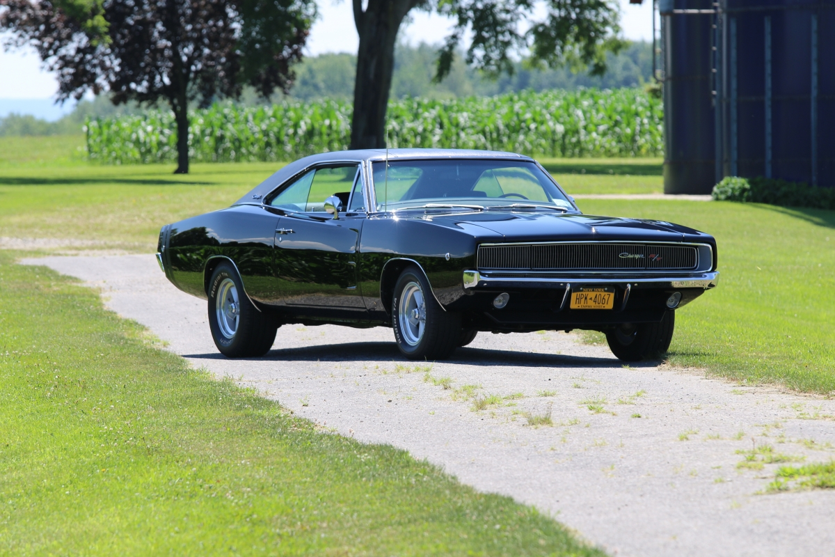1968 dodge charger rt black rjcars photo gallery. Black Bedroom Furniture Sets. Home Design Ideas